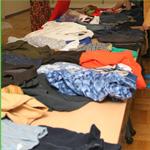 23区内の不要衣類回収 コート ジーンズ等